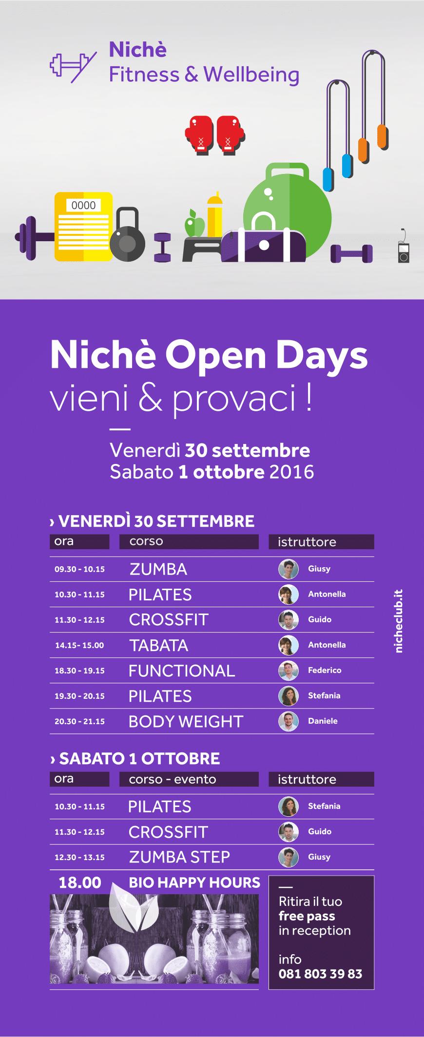 nichè-open-days