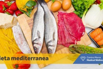 dieta mediterranea, carne uova pesce e pasta