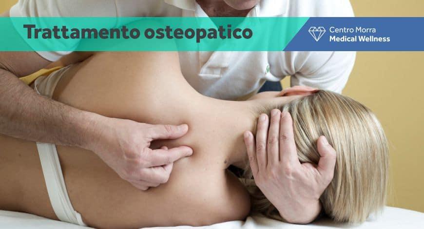 Trattamento osteopatico - Centro Morra
