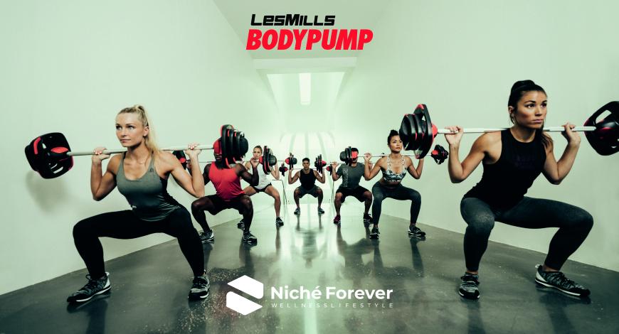 Bodypump - evento Niché Forever