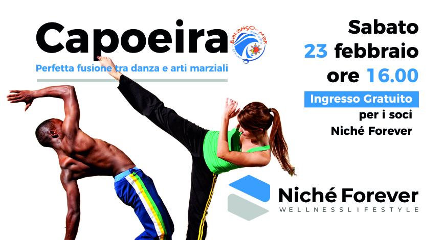 Capoeira - evento Niché Forever