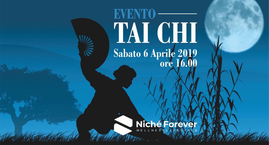 Evento Tai Chi Chuan | Sabato 6 aprile 2019 | Niché Forever