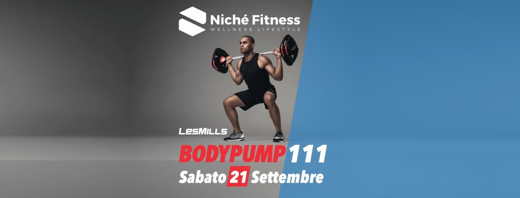 Bodypump - evento Niché Fitness
