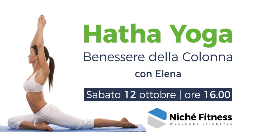 #Hatha Yoga: sabato 12 ottobre 2019   Niché Fitness Club