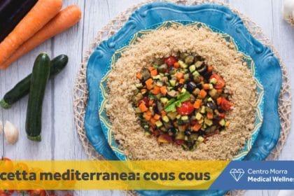 Alimentazione mediterranea Centro Morra.Ricetta di cous cous con carote