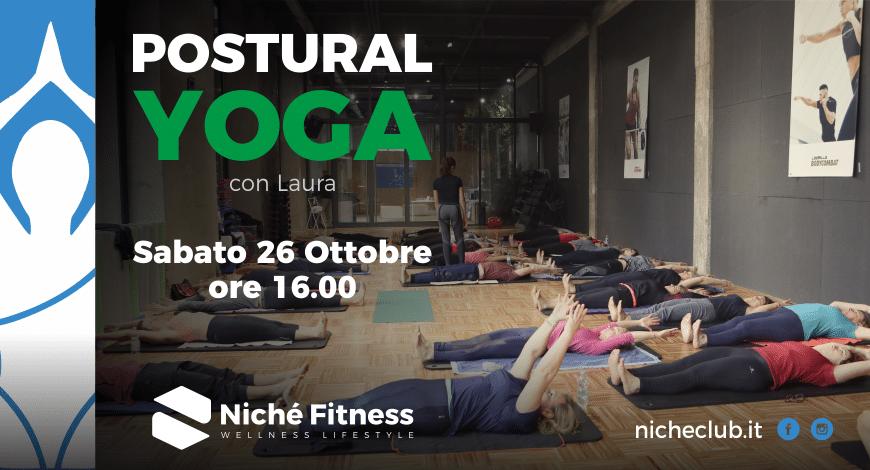 Postural Yoga evento 26 ottobre 2019