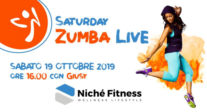 Zumba Saturday Live