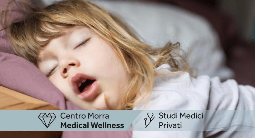 Polisonnografia pediatrica Napoli | Dott.ssa Ginevra Del Giudice | Centro Morra